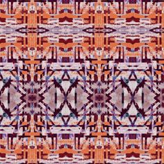 Abstract Art Patterns from the Textile Design Lab - Pattern Observer. Click to see more! Orange, blue, purple, geo, geo pattern, pattern design, repeating pattern, textile design, wallpaper design, wallpaper inspiration. Art Patterns, Pattern Art, Pattern Designs, Floral Drawing, Inspirational Wallpapers, Design Lab, Love Painting, Organic Shapes, Surface Pattern Design