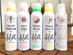 Bilou cremiger Duschschaum: Splashy Melon, Creamy Mandarin, Tasty Donut, Vanilla Cake Pop & Cherry Blossom - Bibis Beautypalace   Cheana - Beauty & Style Blog