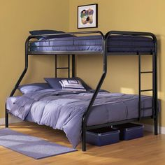 Twin Over Full Bunk Bed - Ambrose Twin over Full Bunk Bed