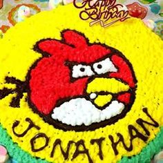 Simple White Cake is the base for this Angry Birds cake. Don't throw it! Simple White Cake is the base for this. Cupcake Toppers, Cupcake Cakes, Cookie Cakes, Cupcakes, Easy White Cake Recipe, Super Mario Cake, Angry Birds Cake, Cupcake Tutorial, Bird Party