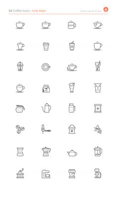 Coffee Icon by ctrlastudio on @creativemarket