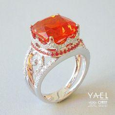 Fire opal - Yael