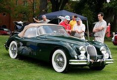 Jaguar Concours ~ love this car in green!