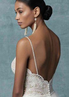 Maggie Sottero Wedding Dresses, Sweetheart Wedding Dress, Princess Wedding Dresses, Princess Bridal, Cornflower Blue Bridesmaid Dresses, Blue Bridesmaids, How To Dress For A Wedding, Luxury Wedding Dress, Backless Wedding