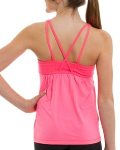 OMG Lululemon has a line for girls? Ivivva Athletica. Dance Mania Tank in Flash.