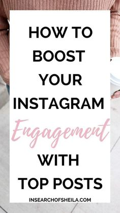 Are you struggling to get engagement on your Instagram posts? Do you want to organically grow your Instagram? Click here to learn how to boost your engagement and grow your audience by getting featured on Instagram Top Posts today! For more blogging tips