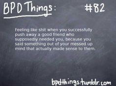 Worst feeling.