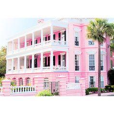 Pink mansion!