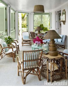 The chicest outdoor room decor inspiration perfect for your summer home or backyard.