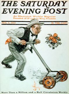 1910 The Saturday Evening Post. August 6 1910