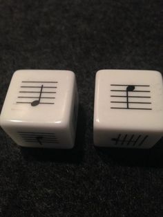 Looking for a creative way to review lines and space note names? Check out these dice! The beauty of these dice is that there are no clefs. So they can be either treble or bass clef depending upon wha