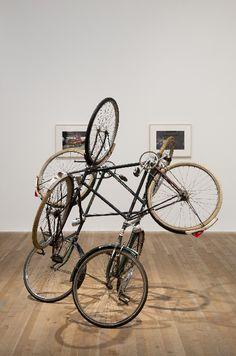Gabriel Orozco, Four Bicycles, 1994  Art Experience NYC: www.artexperiencenyc.com