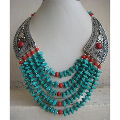Hey, I found this really awesome Etsy listing at https://www.etsy.com/listing/189805702/turquoise-and-coral-statement