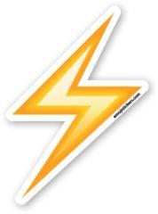 High Voltage Sign | Emoji Stickers