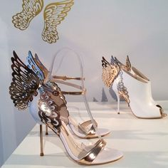 Sophia Webster Butterfly Heels! Courtesy of sent pin from @Margaret Walker!