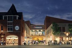 Hundreds of jobs could be created by Loughborough complex.  A new cinema complex in Loughborough could create as many as 250 jobs for locals to take advantage of.  Property developer Citygrove has said they plan to invest £25m into a new 35,000-square-foot development at Baxter Gate in Loughborough...