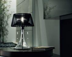 Contemporary Table Lamp (fabric) PARIGI SiL.Lux