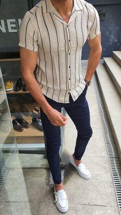 Trendy Mens Fashion, Stylish Mens Outfits, Men's Fashion, Men's Casual Outfits, Men Summer Fashion, H M Outfits, Work Fashion, Simple Outfits, Fashion Watches