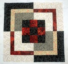 Nine Patch Bento Box Quilt Pattern - Copyright Janet Wickell