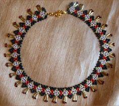 Free pattern for necklace Ivetta   Beads Magic   Bloglovin' #beadedjewelry
