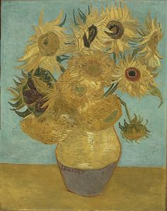 Vincent Van Gogh  - Sunflowers, 1889 by famousartworks