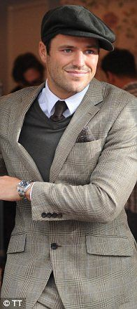 Flat cap style sported by Mark Wright. (Not sure if this is a +ve or -ve endorsement, tbh!)