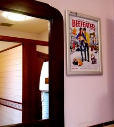 Beefeater Washroom Advertising. We deliver washroom advertising campaigns throughout Northern and Southern Ireland, We welcome all enquiries! For all of your ambient advertising needs at unbeatable rates- www.Imagezoo.eu
