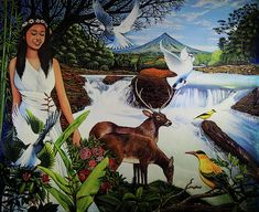 Daragang Magayon The Legend of Mayon Volcano by Armando Gonzales Oil Paintings, Original Paintings, Philippine Mythology, Past Life, Pinoy, Wood Print, Wall Collage, The Rock, Boxing