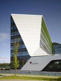 В палитре манга: офисное здание по проекту UNStudio :: Архплатформа