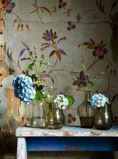 7 Easy Ways To Create Botanical Style At Home - on / Photo: Rachel Whiting Ryland Peters + Small Styling: Selina Lake Interior Design Inspiration, Painting Inspiration, Botanical Interior, Pot Plante, Deco Boheme, Nature Decor, Nature Plants, Motif Floral, Decorative Objects