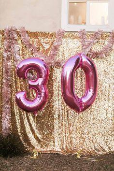 Sparkly 30th Birthday Bash on Kara's Party Ideas | KarasPartyIdeas.com (17)