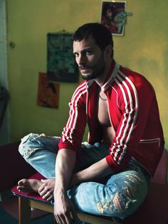 Jamie Dornan desnudo en Interview