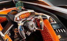 Lamborghini Unveils 'Egoista' Concept Car