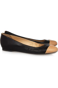 J.Crew  Cece leather ballet flats
