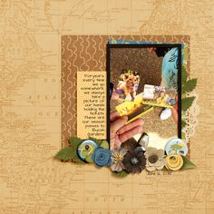 Layout by Jennifer Johnson using inspiration from the Simple Scrapper membership