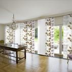 Sliding Door Window Treatments with Flower Curtain Sliding Glass Door Curtains Drapes Glass Door Curtains, Patio Door Blinds, Sliding Door Curtains, Patio Windows, French Door Curtains, French Doors Patio, Sliding Patio Doors, Sliding Glass Door, Panel Curtains