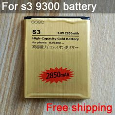 Untuk s3 eb-l1g6llu baterai isi ulang li-ion emas penggantian baterai untuk galaxy s3 i9300 baterai