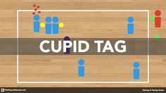 Cupid Tag – Standards-Based PE Game for your Gym Cupid Tag is a Valentine's Day-themed physical education game that is part Roman mythology, part chasing & fleeing and all fun! Physical Education Activities, Pe Activities, Health And Physical Education, Movement Activities, Team Building Activities, Activity Games, Recess Games, Babysitting Activities, Fun Games