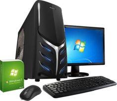 VCM Einsteiger PC-Set (PC+TFT) | Intel Quad-Core J1900 (4x 2 GHz, 2 MB Cache) | Intel HD Graphics | Windows 7. https://www.plus.de/p-1603997000?RefID=SOC_pn