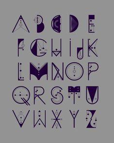 Letters tattoo