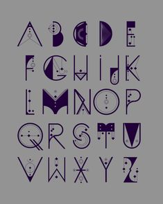 Alquimia Typeface designed by Luis Miguel Torres and Diego L. Rodríguez. I love the futuristic and cryptic look to it.