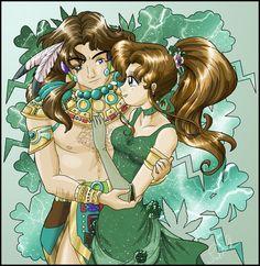 Princess Jupiter and Nephrite by *SMeadows on deviantART