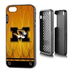 Missouri Tigers Apple iPhone 5SE/5s/5 Rugged Case