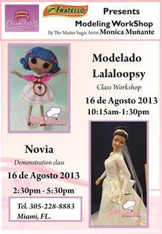 Monica Muñante classes in Camilas Cake Supply: 305-228-8883