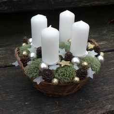 Candle Holders, Candles, Table Decorations, Christmas, Winter, Design, Home Decor, Flowers, Xmas