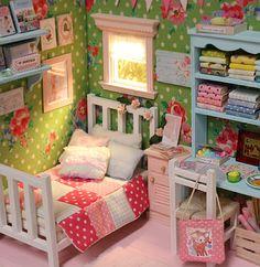 Nerea Pozo Art: ♥ Diorama SUMMER ROSES ♥