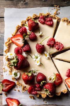 No Fuss Lemon Tart. - - Made with only 4 base ingredients and a crust of sweet graham crackers, salty pretzels, and a touch of butter. Combine with the creamy lemon filling - perfection! Easy Summer Desserts, Just Desserts, Delicious Desserts, Yummy Food, Tart Recipes, Baking Recipes, Dessert Recipes, Lemon Recipes, Fruit Recipes
