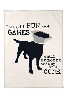 All Fun and Games Throw Blanket - 50'' x 60''