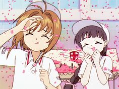 Card Captor Sakura... Sakura and Tomoyo