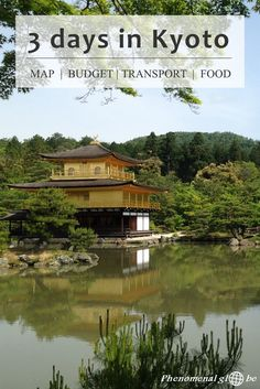 3 day itinerary for Kyoto: budget information, Kyoto highlights (Kinkaku-ji, Fushimi Inari Taisha, Arashiyama Bamboo Forest and much more), recommended accommodation, transport information and where to eat delicious food! Plus downloadable map and budget breakdown infographic.